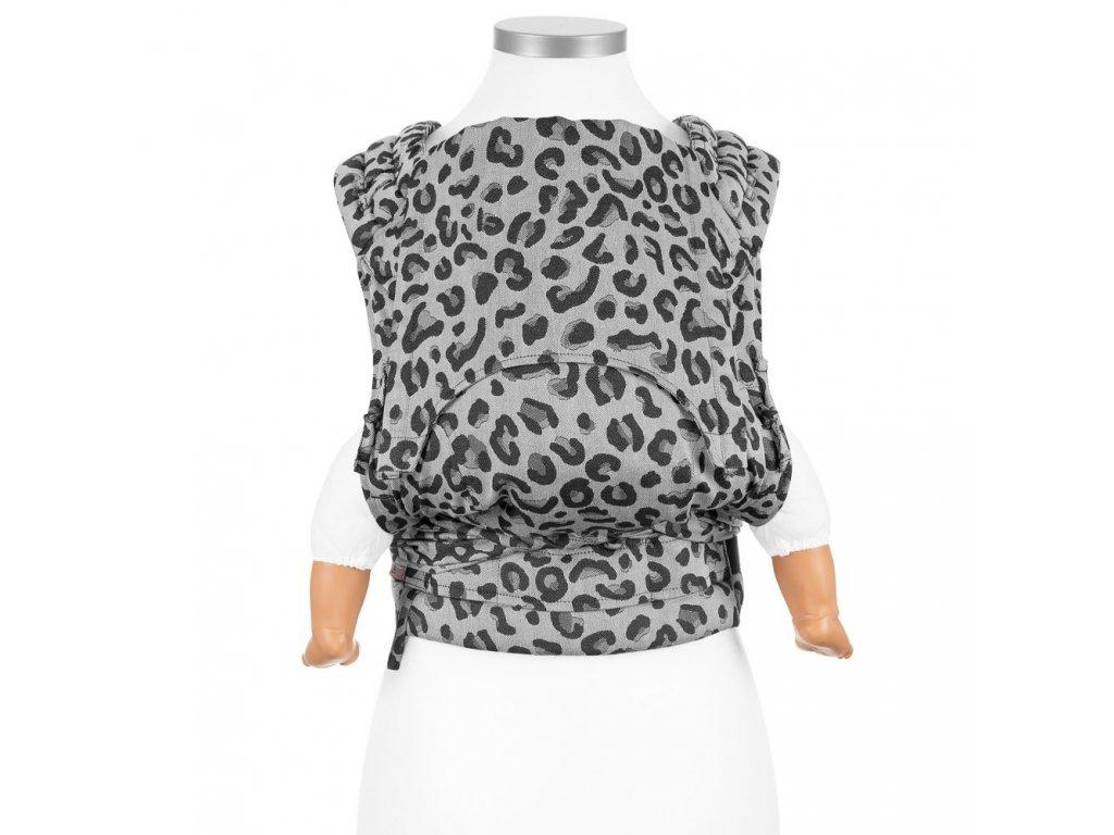 Fidella FlyClick (Baby) - Leopard Silver