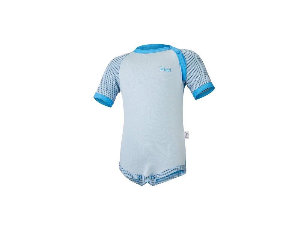 Body tenké KR Outlast® - modrá/pruh sv.modrý úzký
