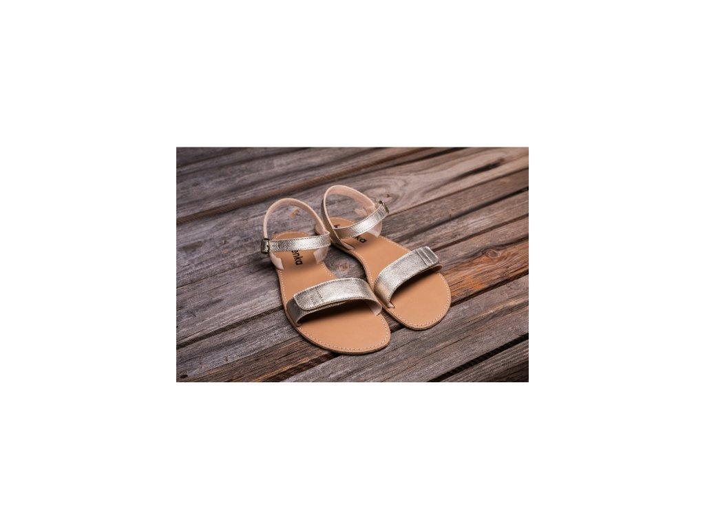 Sandále Be Lenka Grace - Gold