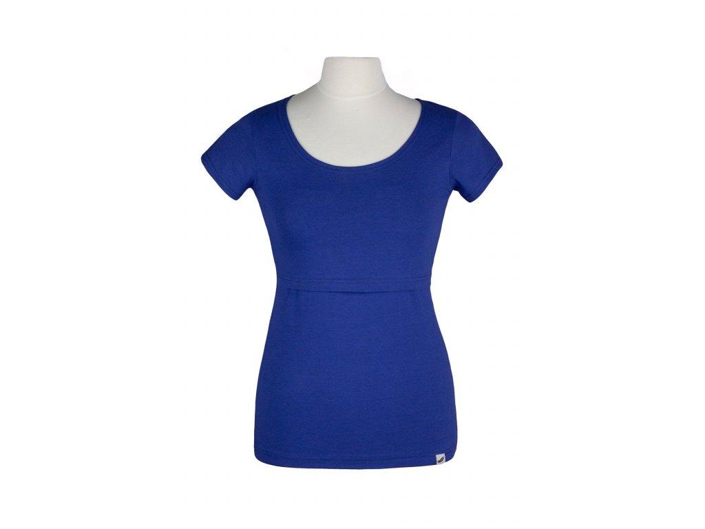 Angel Wings kojící tričko - kobaltově modrá