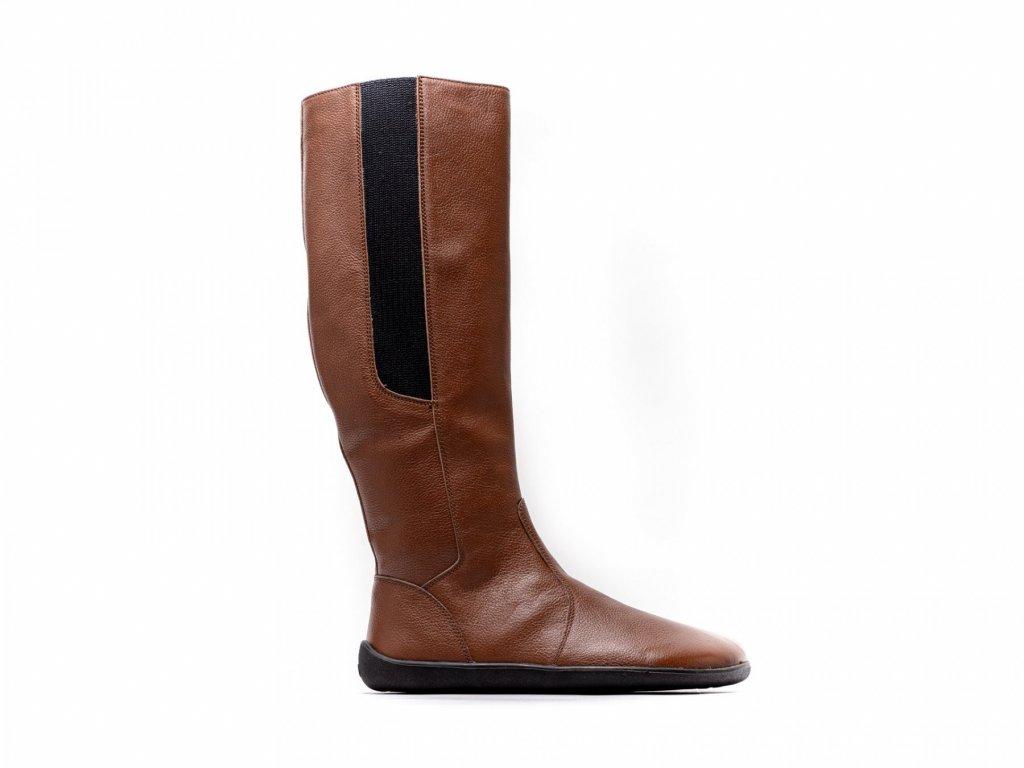 Barefoot kozačky Be Lenka Sierra – Brown