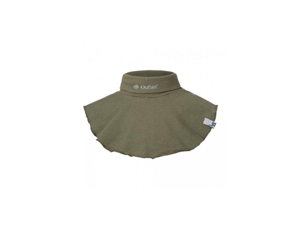 Nákrčník smyk Outlast® - khaki army