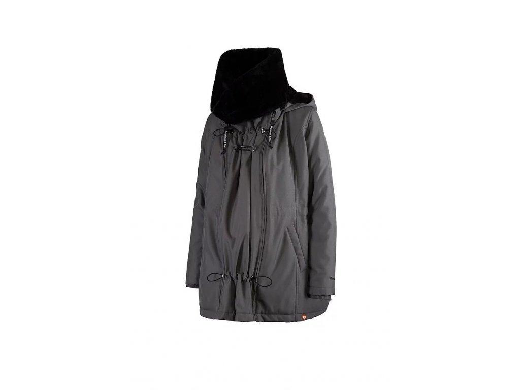 Zimní bunda Wombat & Co. WALLABY 2.0 Grey & Black