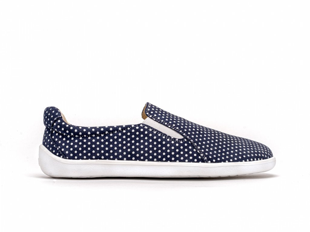 barefoot be lenka eazy dark blue with dots 2201 size large v 1