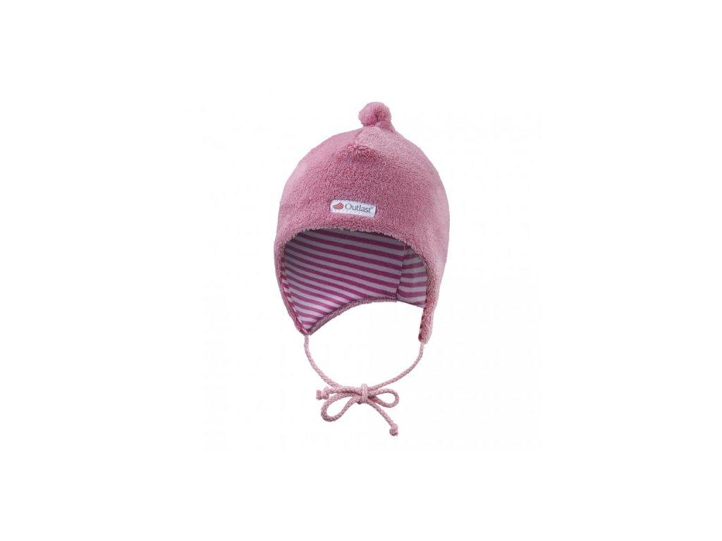 Čepice MAZLÍK Outlast® - středně růžová