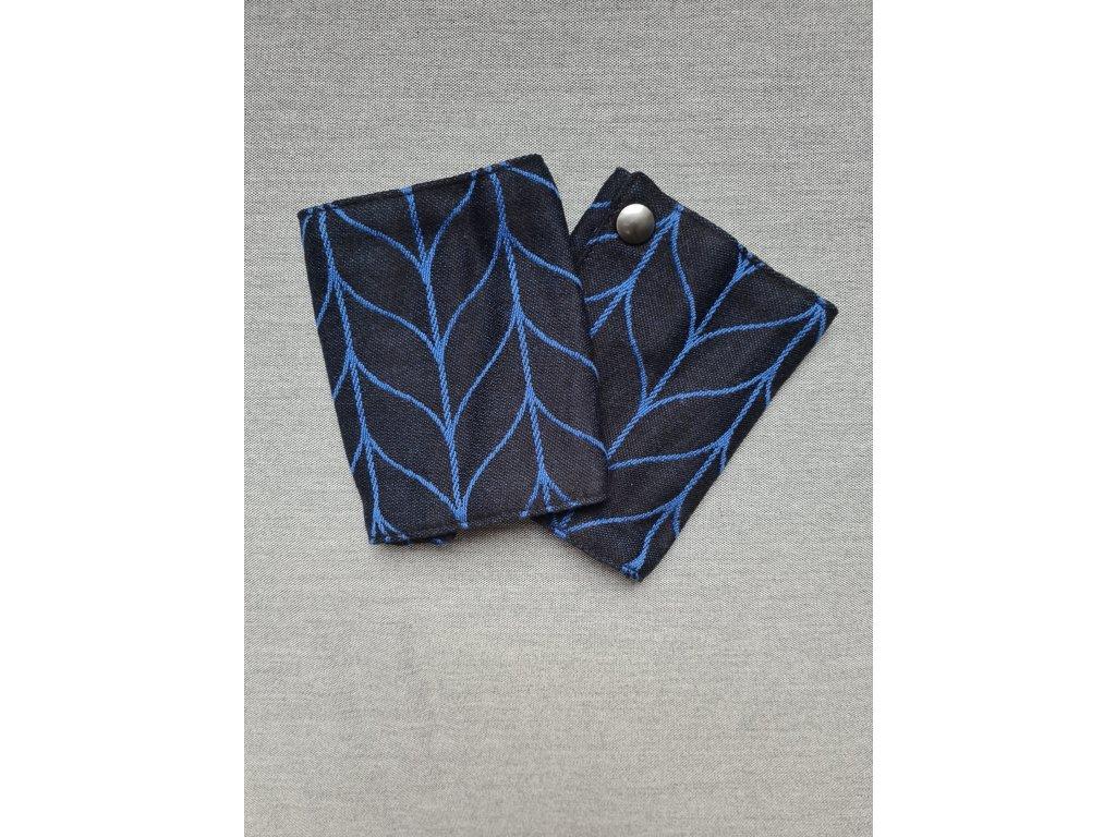 kavka slintacky vintage blue braid
