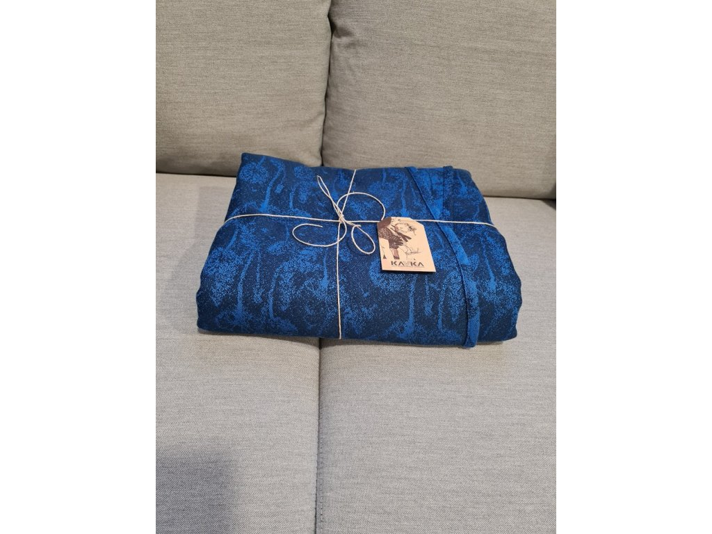 kavka satek royal blue dandelions