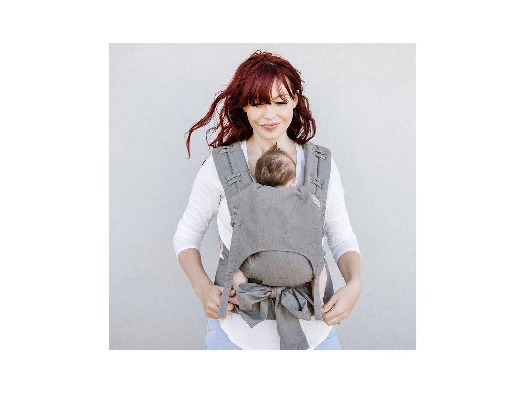 nositko fidella flyclick baby chevron light gray (6)