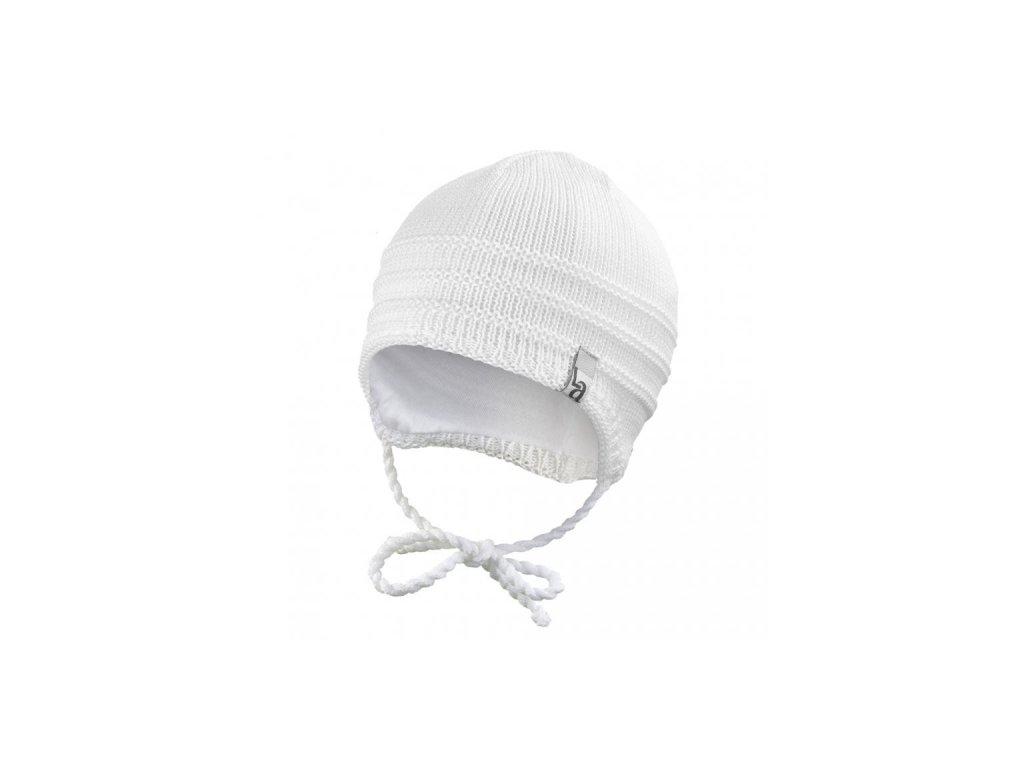 Čepice pletená zavazovací tenká Outlast ® - bílá