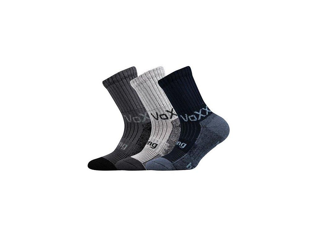 Ponožky froté Bomberik - mix uni