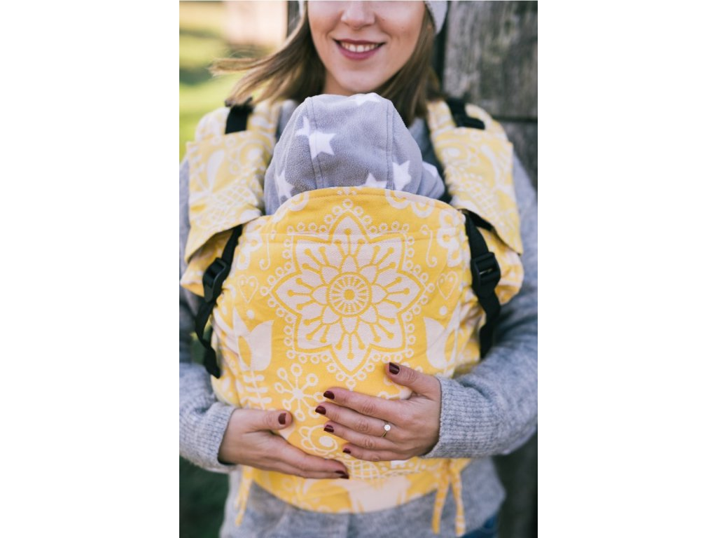 Nosítko Lenka 4ever Folk žltý