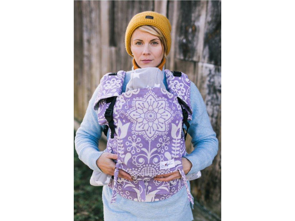 Nosítko Lenka 4ever Folk fialový
