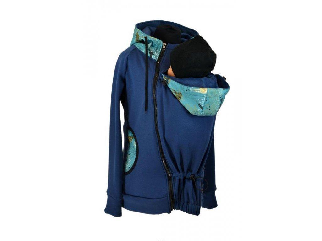nosici mikina warmkeeper shara tmave modra jeleni (3)