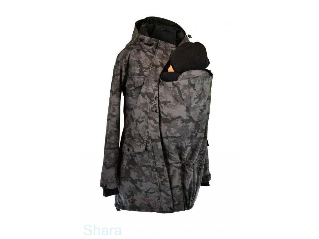 softshellovy kabat pro predni noseni jaro podzim sedy maskac (2)