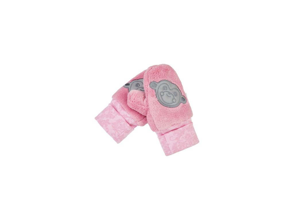 rukavice s palcem mazlik outlast ruzova (2)