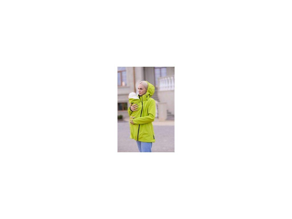 softshellova nosici bunda angel wings kiwi zelena (2)