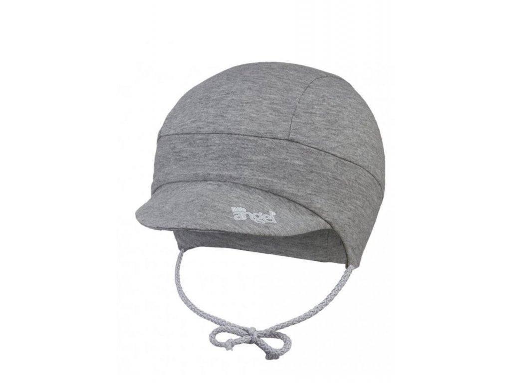 Kšiltovka tenká zavazovací Outlast® - šedý melír