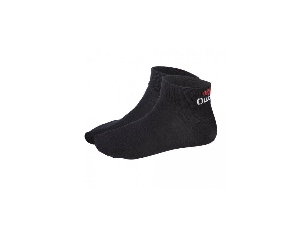 Ponožky Outlast® nízké - černá