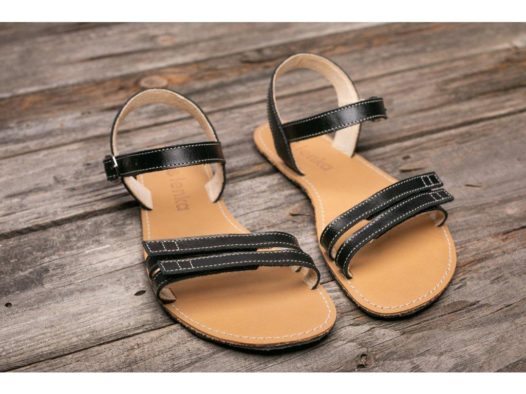 Sandále Be Lenka Summer - černé