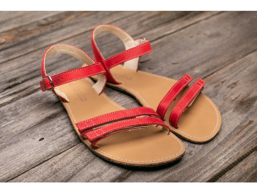 Sandále Be Lenka Summer - červené