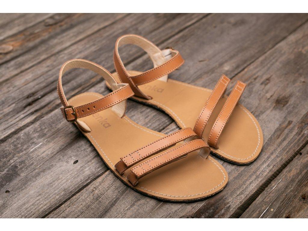 Sandále Be Lenka Summer - hnědé