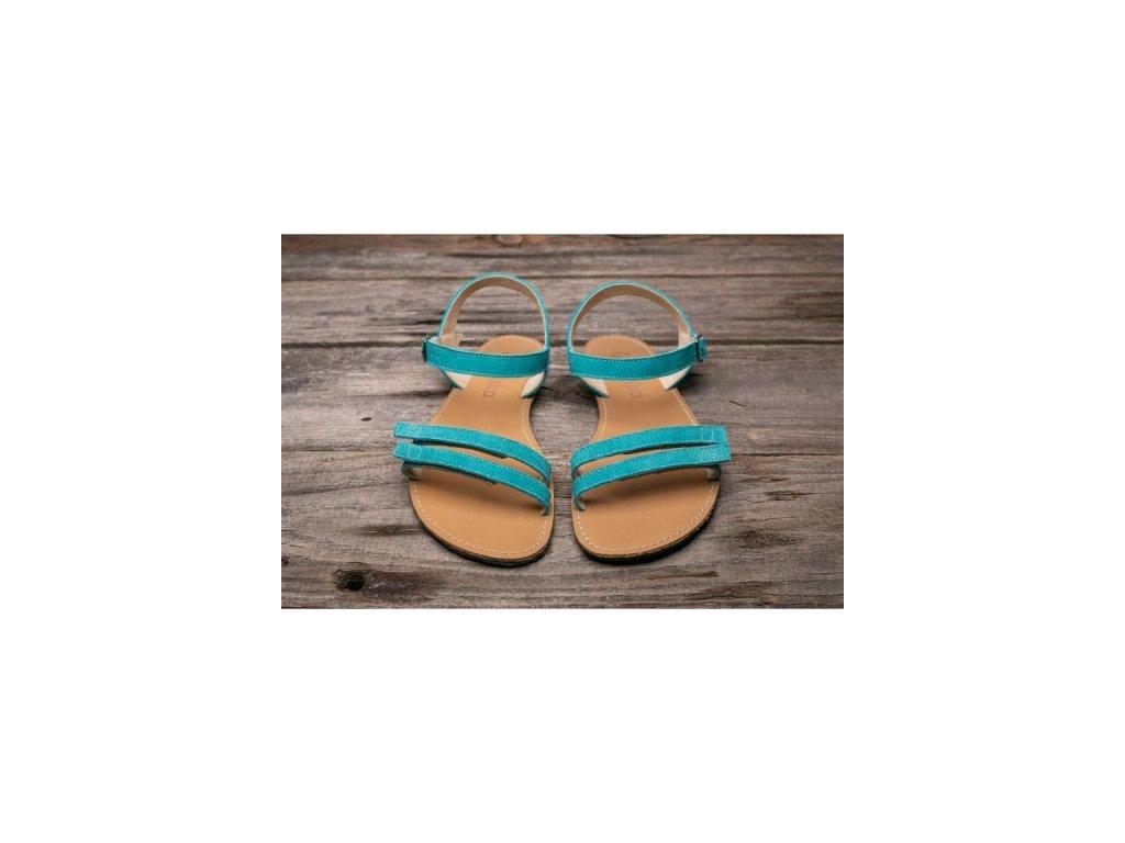 Sandále Be Lenka Summer - tyrkysové