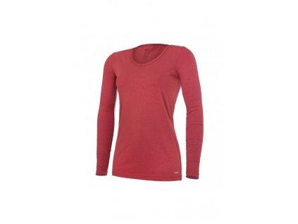 Tričko dámské DR tenké Outlast® - bordová