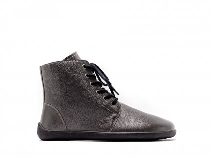Barefoot kotníkové boty Be Lenka Nord – Charcoal