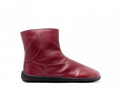 Barefoot kotníkové boty Be Lenka Polar – Ruby