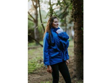 Softshellová nosicí bunda Kavka - Indigo
