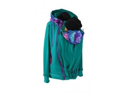 tepla nosici mikina shara smaragdova mandaly (3)
