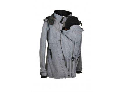 softshellova nosici bunda shara seda zihana jaro podzim (2)