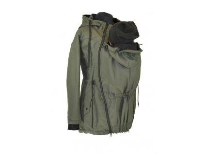 bavlnena nosici parka shara khaki (2)