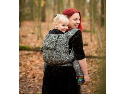 neko half buckle toddler efes paisley hazel dark (2)