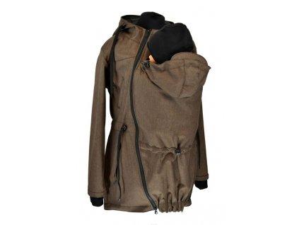 softshellová nosici parka pro predni noseni hneda zihana (1)