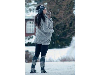 nosici svetr predni noseni elsa sedy melir (9)