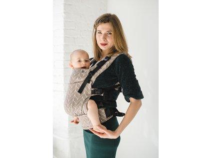 Nosítko Kavka Multi-Age Sandy Braid + slintáčky