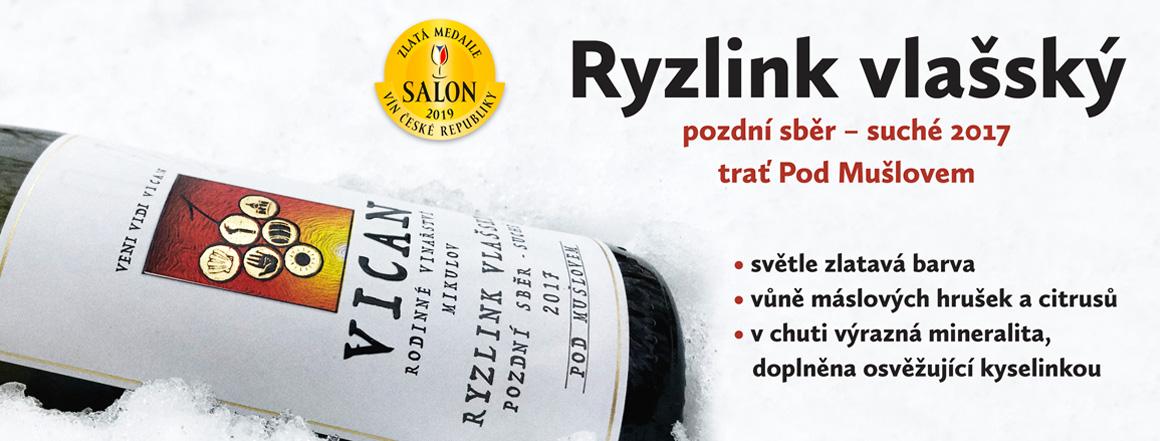 Ryzlink vlašský - Salon 2019
