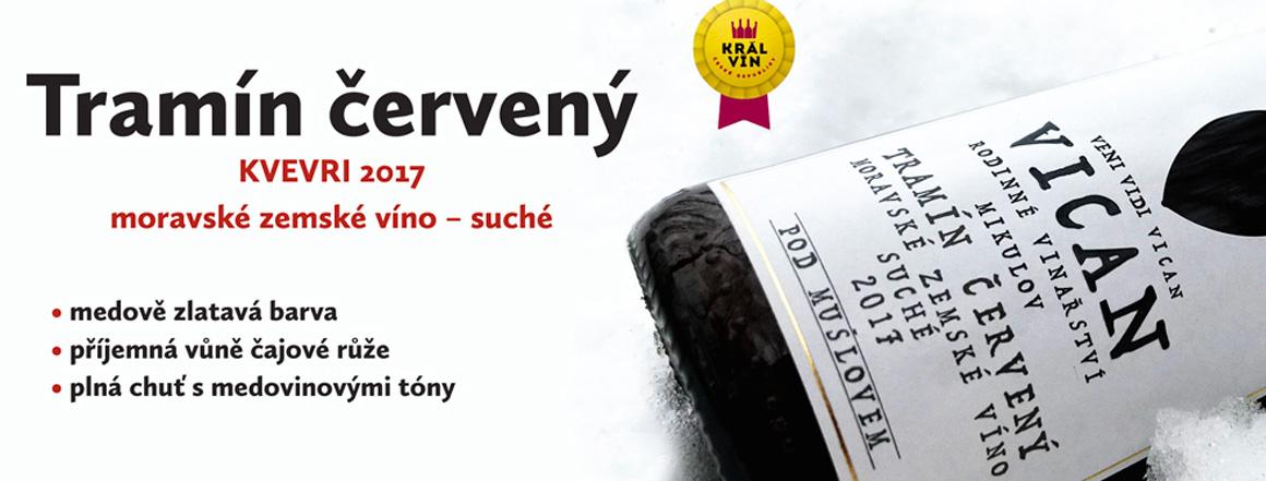 Kvevri Tramín červený - Král vín