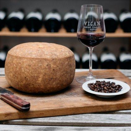 Kávové pokušení: Frankovka & kávový sýr
