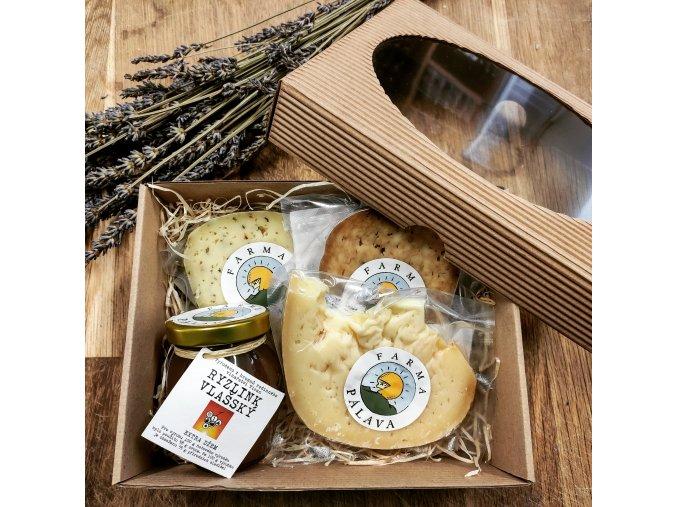 Malý dárkový set sýrů