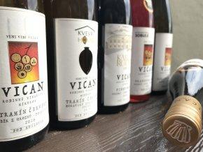 Degustační set vinařství roku