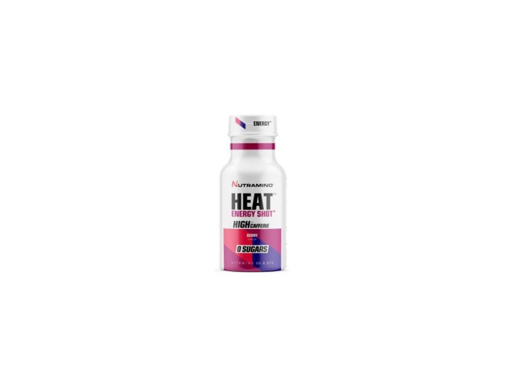 Nutramino HEAT energy shot 60ml berry