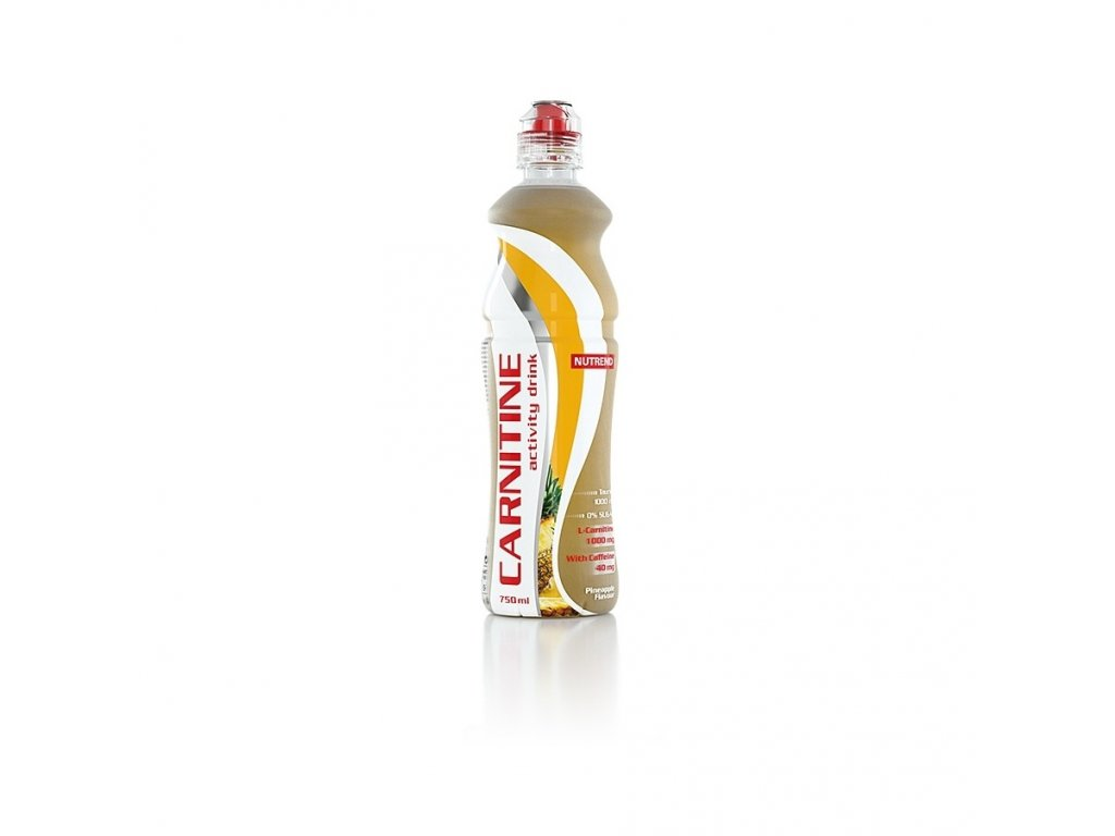 Nutrend Carnitin 0,75l active ananas