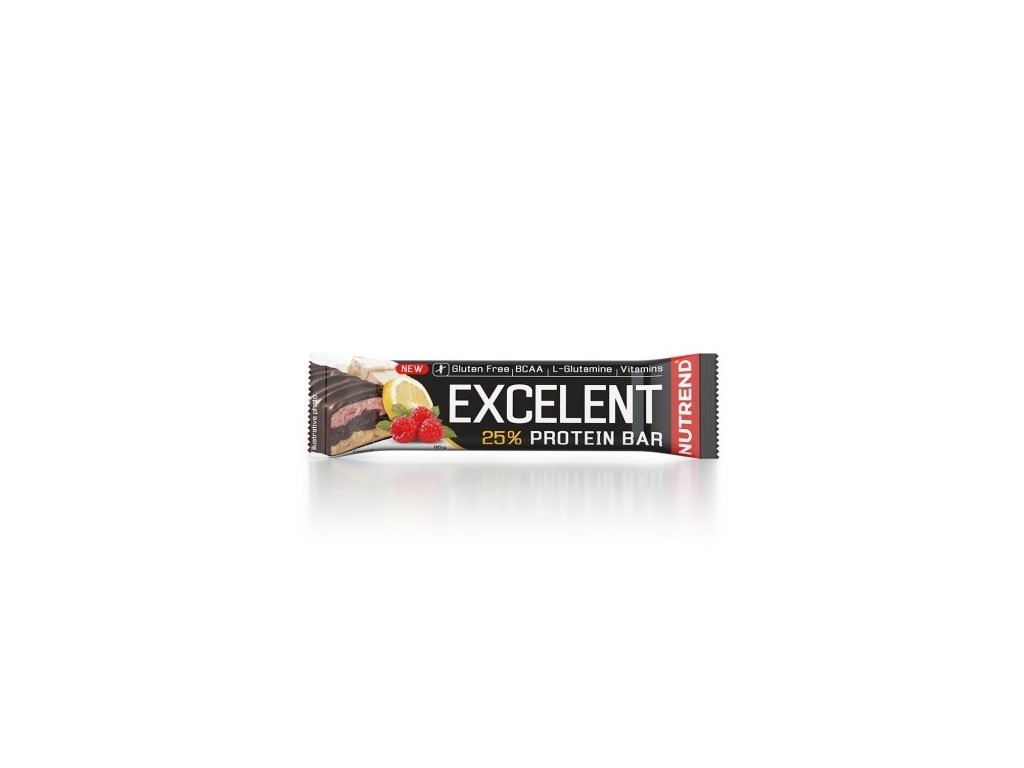 Nutrend Excelent protein bar double 85g citron tvaroh malina
