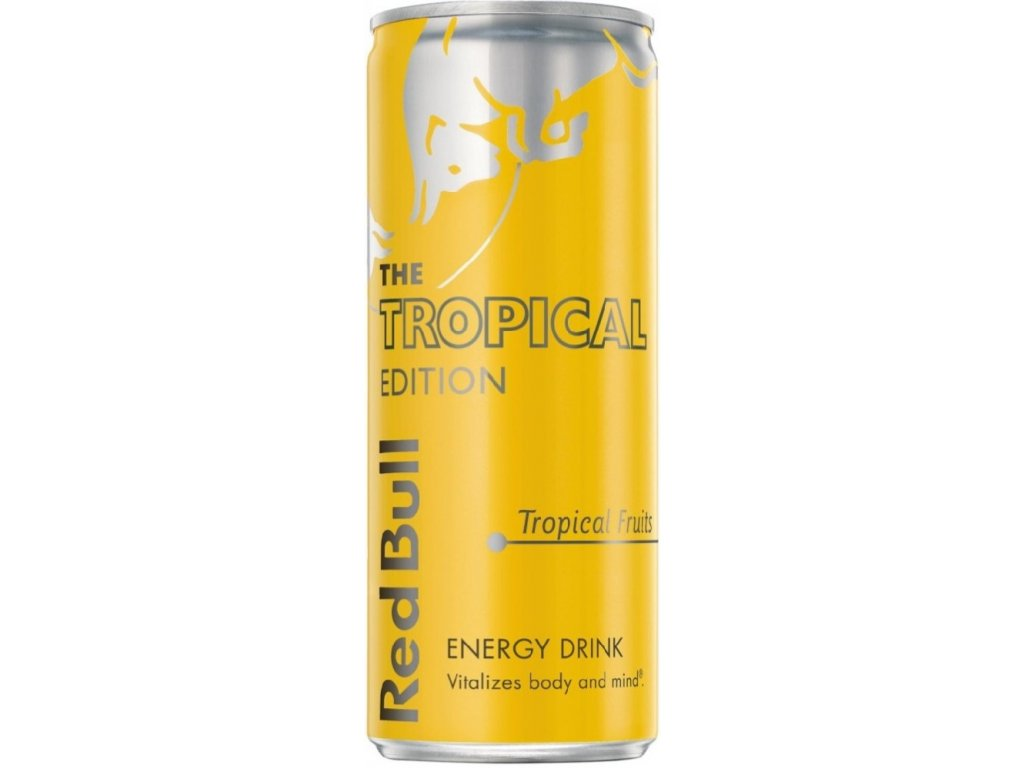Red Bull yellow tropical 250ml