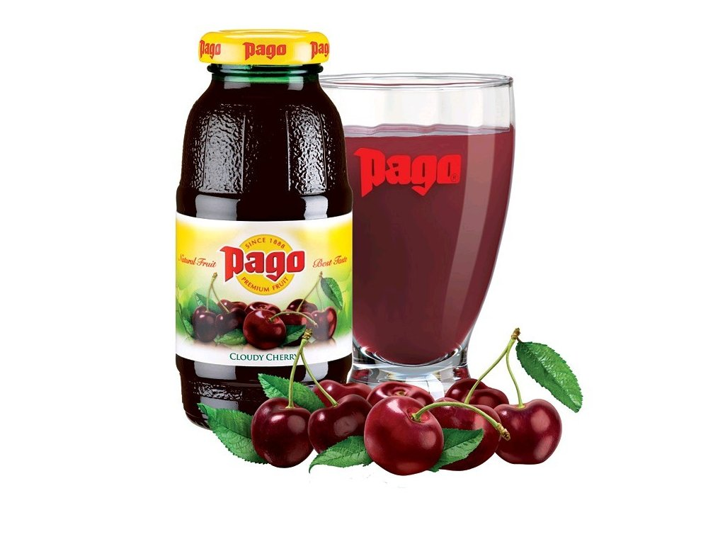 Pago cloudy cherry 200ml