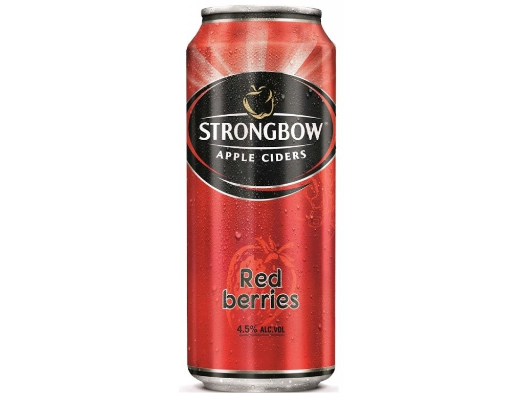 Strongbow 400ml 4,5% red berries