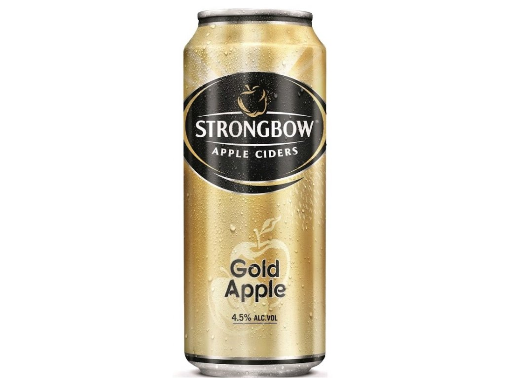 Strongbow 400ml 4,5% gold apple