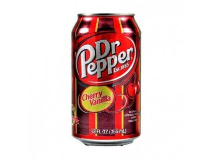 Dr. Pepper vanilla USA 0,355l